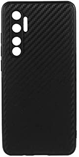 Xiaomi Mi Note 10 Lite Case Cover Carbon Fiber Design TPU Black Soft Slim Flexible Shock Absorbent Protective Case Cover f...