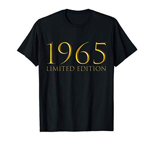 55 Años Cumpleaños Hombre Mujer Regalo Deco Divertido 1965 Camiseta