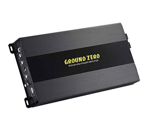 Ground Zero Monoamp - 1 x 1250 WRMS @ 1 Ohm, schwarz, GZIA 1.1450DX-II