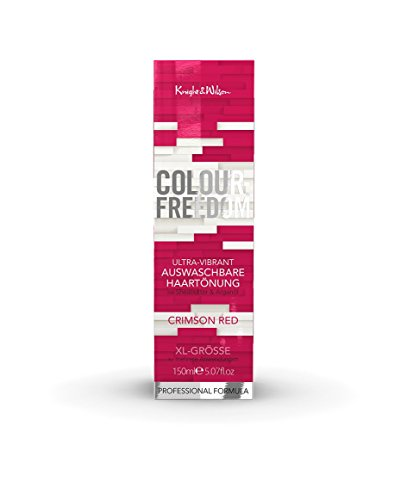 Colour-Freedom Ultra-Vibrant Crimson Red XL 150 ml auswaschbare Haartönung