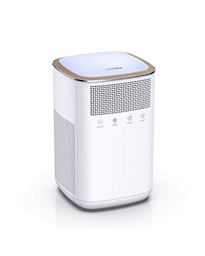 True HEPA Air Purifiers for Home Allergies and Pets, Smoke, Dust and Pollen, Air Cleaner with H13 Filter, Sleep Mode, Night Light, for Bedroom, Large Room