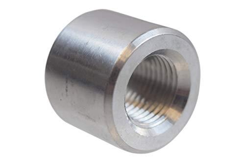 ICT Billet Aluminum -6AN Weld On Bung Female Nut Threaded 6 AN Insert Weldable AN871-06A