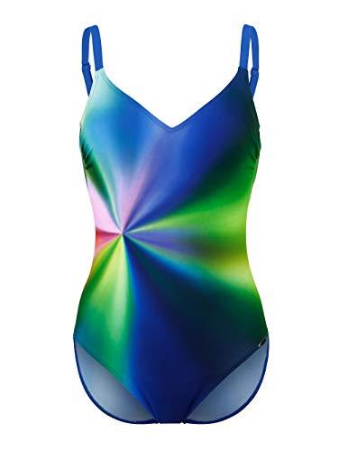Sunflair Badeanzug mit verlaufenden Farben rundum blau/grün