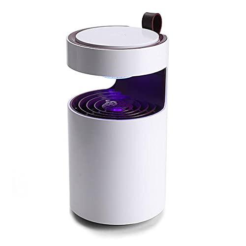 Lámpara Antimosquitos Eléctrico, UV LED Mosquito Lámpara Trampa Killer, Mata Insectos Trampa, Portátil Bug Zapper, para Interior, Dormitorio, Salón, Cocina,...