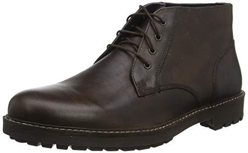 Red Tape Herren Langdale Chukka Boots, Braun Dunkelbraun 0, 46 EU