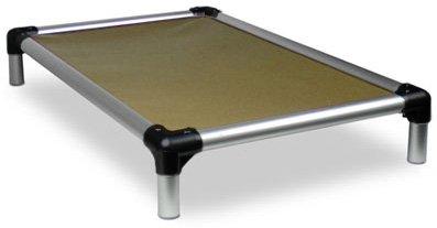 Kuranda All-Aluminum (Silver) Chewproof Dog Bed -...