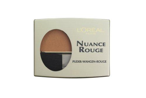 L'Oréal Paris Nuance Rouge, 107 Haselnuß / Wangenrouge für natürlich-mattes Make-Up-Finish, für jeden Hauttyp / 1 x 6g