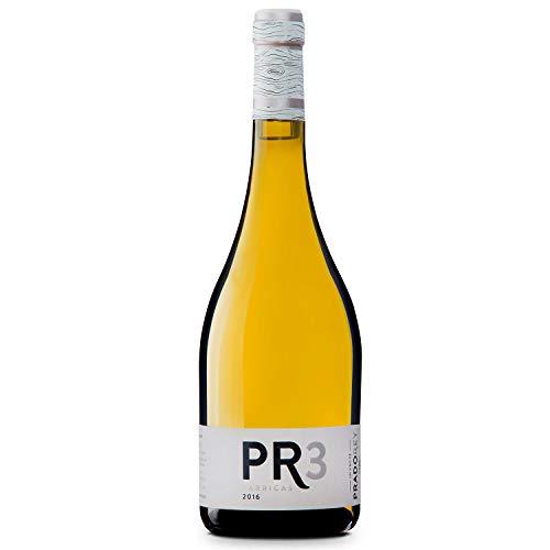 PRADOREY PR3 Barricas - Vino blanco - Verdejo - Rueda - Vino de autor - 9 meses en barrica y sin maloláctica - 1 Botella de 0,75 L