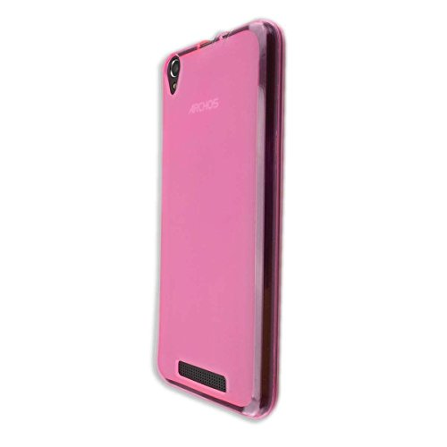 caseroxx TPU-Hülle für Archos Access 55, Handy Hülle Tasche (TPU-Hülle in pink)