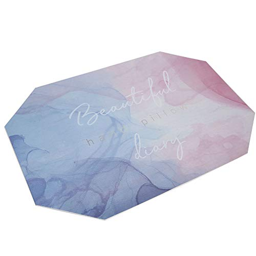 Almohada de mano Cojín de reposo de brazo Cojín de mano para el hogar para la decoración (alfombra de manchas octogonal)