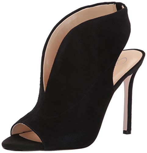 Jessica Simpson Women s Javrey, Black Suede, 8 Medium US