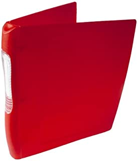 Wilson Jones Impact Round Ring Binder with Snap-Off Label Holder, 1 Inch Capacity, Letter Size, Assorted Colors (W43471E)