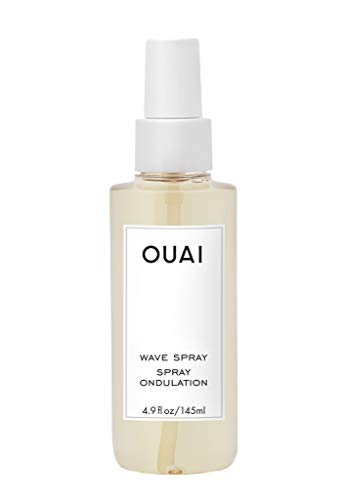 OUAI Wave Spray. For Perfect Yet Effortless Beachy Waves. The Wave Spray Adds Texture, Body and Shine and is Safe for Color- and Keratin-Treated Hair. Free from Parabens and Sulfates (4.9 oz)