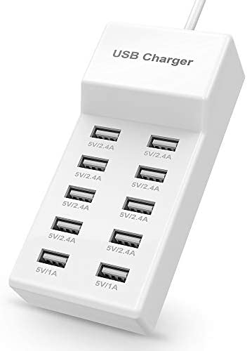 USB Charger USB Charging Station with Rapid Charging Auto Detect Technology Safety Guaranteed product image