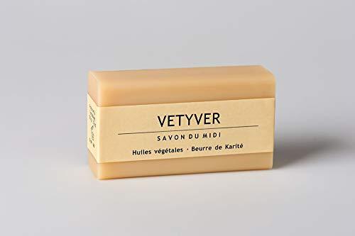 Savon du midi Bio Seife mit Karité-Butter Vetyver 100g (6 x 100 gr)