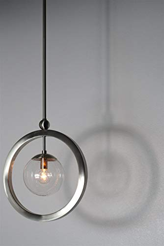 Kira Home Adele 10' Modern Rustic Mini Pendant Light + Hammered Glass Shade, Teardrop Ceiling Light,...