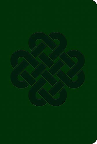 Piccadilly Soft Leatherlook Green Celtic Knot Journal | Vegan Friendly Soft Cover Lined Diary | Acid-Free Writing Paper | 192 Pages, blue, Model: 9781608639281