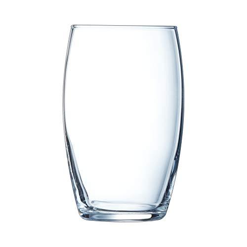 Arcoroc ARC 61633 Baril Trinkglas, Wasserglas, Saftglas, 160ml, Glas, transparent, 6 Stück