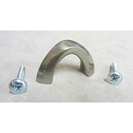 Maniglia pomolo x mobili armadi cassetti interasse 32 mm in metallo cromo lucido