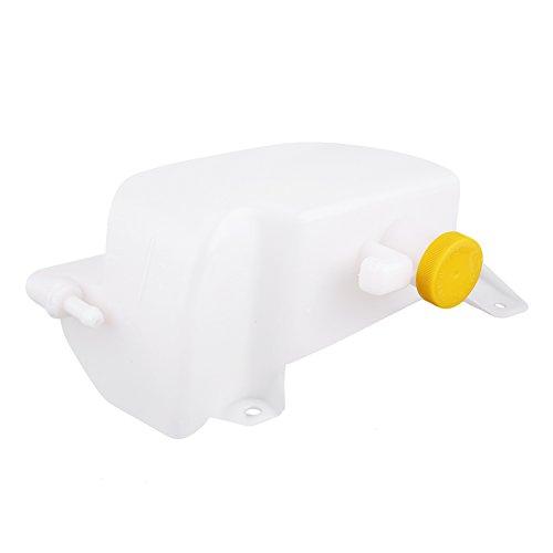 Botella de Expansión de Refrigerante con Gorra, Depósito de botella de depósito de desbordamiento de expansión del refrigerante del motor del automóvil Tanque con tapa para Nissan Micra 21710-