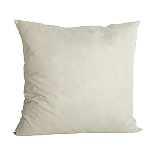 House Doctor Kissenfüllung, Entenfeder, 60x60 cm, 1000 g, Steinzeug, weiß, Standard