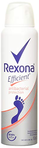 Rexona Desodorante Efficient Antibacterial en Aerosol, 153 ml