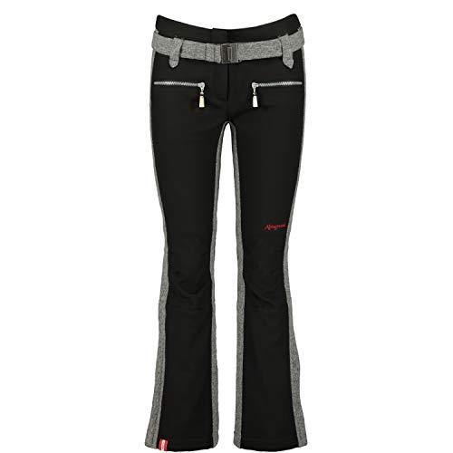 Almgwand Damen Preinerwand Hose, schwarz-grau, 38