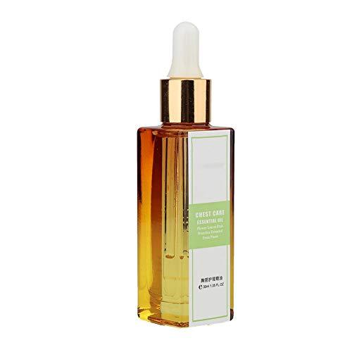 30 ml Aceite esencial para agrandamiento de senos Aceite para agrandamiento de senos Masaje Cuidado de los senos Aceite esencial reafirmante para el estiramiento de senos, esencia natural para agrand