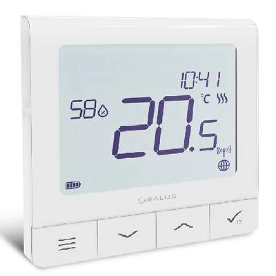 SALUS Quantum SQ610RF thermostaat smart home-radiografische verwarming smartphone