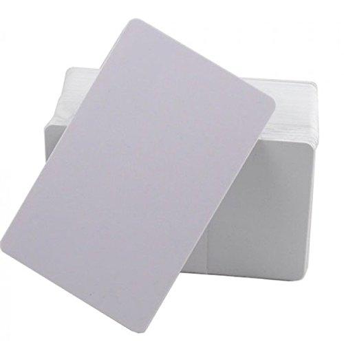 Generic TK4100N.200Tarjetero PVC RFID 125KHz para Sistemas de rilevazione presenze y Control Acceso, Blanco, Juego de 200Unidades