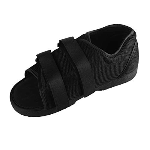 Healifty Zapato Postoperatorio Fractura de Pie Roto Zapato para Caminar Moldeado Botín Médico Ajustable para Caminar Punta Ortopédica Soporte Ortopédico para Hueso Roto Ws
