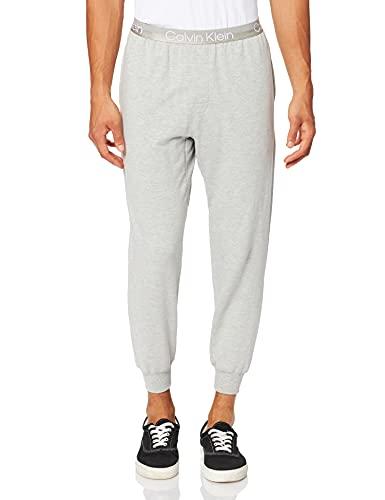 Calvin Klein Jogger Pantaln de Pijama, Gris, M para Hombre