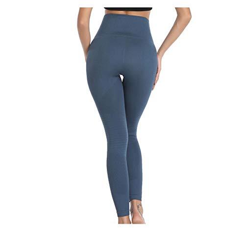 WUXEGHK Leggings Sportivi Da Yoga Pantaloni A Compressione Elastica Esecuzione Di Allenamento Stretta Lift Legging Dell'Anca Donna Fitness Pantaloni Da Palestra Sexy Taglia : S