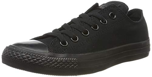 Converse Converse Ctas, Unisex-Erwachsene Sneakers, Schwarz (Black Mono), 42.5 EU