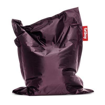 Fatboy® Original Sitzsack Junior | Klassisches Indoor Sitzkissen speziell für Kinder in Lila | 130 x 100 cm
