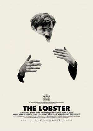 Poster da parete del film 'The Lobster' con Colin Farrell, 30 cm x 43 cm