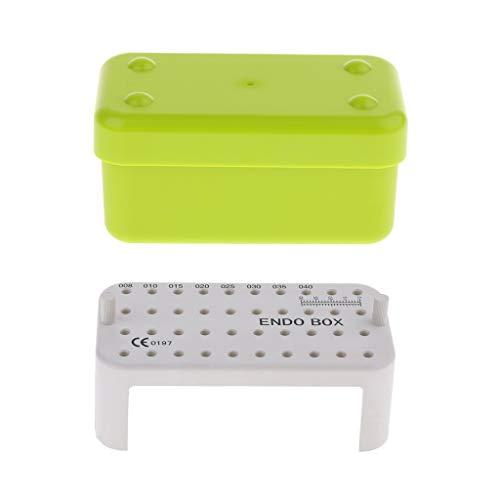 Shiwaki Endo Box Autoklav Für Die Wurzelkanalbehandlung Lagerung Grün
