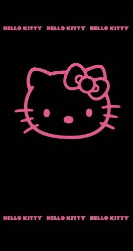 CTI STRANDLAKEN 75/150 Hello Kitty Black Fuchsia NEU/OVP Badetuch