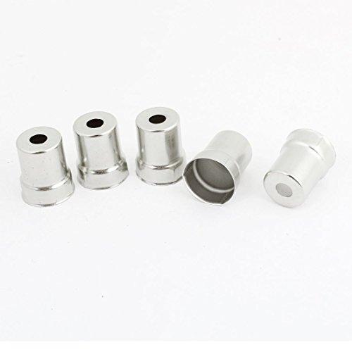 Cap redondo de acero para horno de microondas magnetrón 19 mm de largo de 5 PC