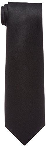 [ドレスコード101] ネクタイ 黒 フォーマル メンズ お葬式 お通夜 法事 礼装 TIE-783REI ブラック 日本 8cm (FREE サイズ)