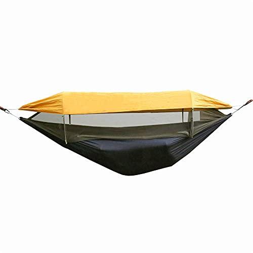FireHiking Camping-Hängematte mit Staubschutz, Sonnenplane, Käferinnennetz, Pop-Up