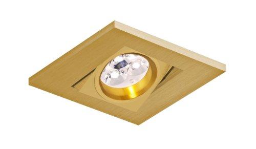Foco empotrable Care cuadrado basculante de Bpm Lighting (Válido p...