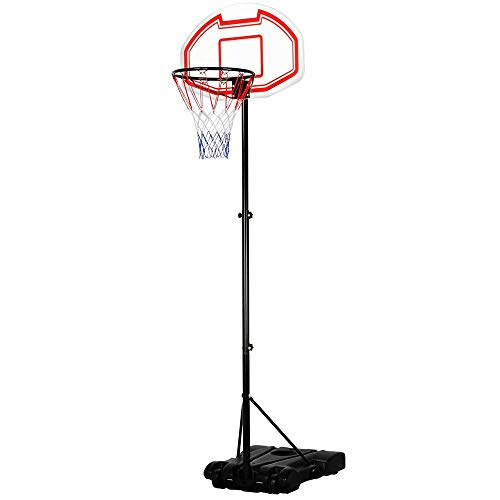 Height-Adjustable Basketball Hoop System review