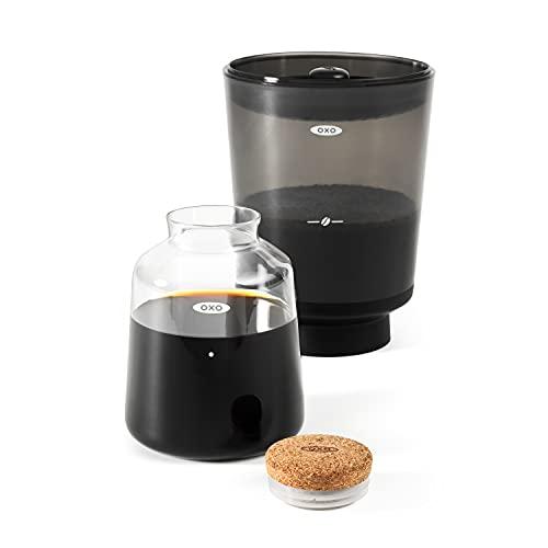OXO 11237500 BREW Compact Cold Brew Coffee Maker Metallic