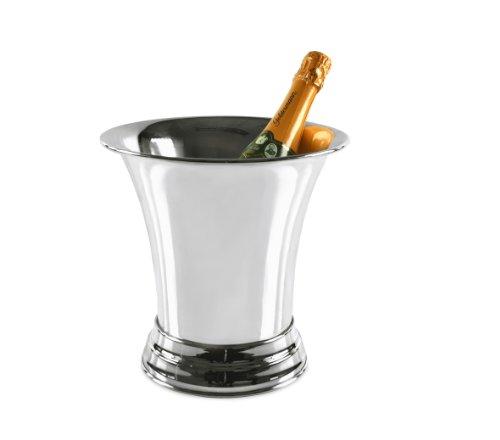 Sektkühler Champagnerkühler Tromba 25 cm hoch versilbert
