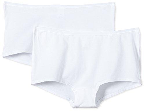 Calida Damen Benefit Women Panty Panties, Weiß, 40-42