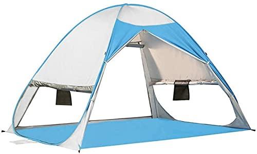 Ankon Carpas de Playa para Adultos Carpas para Camping Tienda Impresionante Hogar Protección UV Portátil Protección Solar Toldo automático Instante 2-3 Persona Camping Camping Pesca Senderismo Picnic