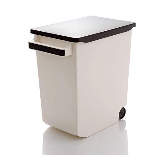 YWSZJ Caja De Almacenamiento De Cubo De Arroz Multifunción Sellada con Tapa De 10 KG, Dispensador De Cereales para El Hogar, Caja De Contenedor De Granos para Alimentos