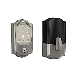 in budget affordable Schlage Lock Company BE489WB CAM 619 Schlage Encode Encode Smart WiFi bar and notched Camelot …