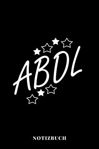 ABDL - Notizbuch: Adult Baby Diaper Lover